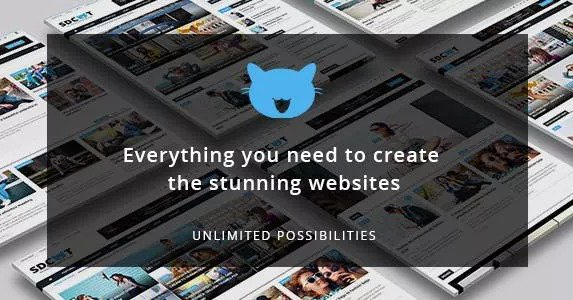 WordPress  Haber ve Dergi Teması ( Shadowcat v2.3 )