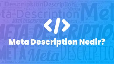 Meta Description Nedir